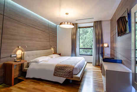 Berg Luxury Hotel - Four Star Avant Garde Design in the Eternal City Stay For Two - Save 77%