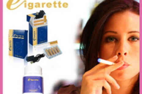 Ecig - Award Winning Electronic Cigarette Starter Pack - Save 60%