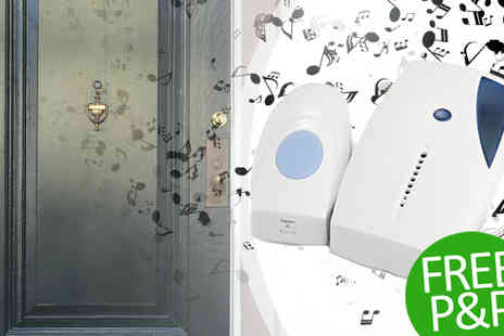 Vera Enterprises Co - Wireless Doorbell Set 36 Melodies With Free Delivery - Save 77%