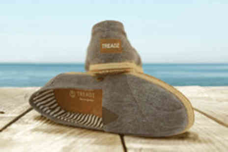 Treadz - Voucher to spend on handmade mens and women's espadrilles - Save 60%