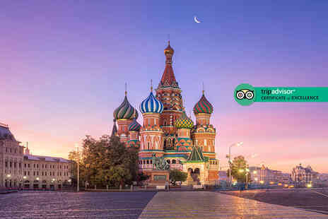 Bargain Late Holidays - Four or six night Moscow and St. Petersburg stay with flights and train transfer - Save 0%
