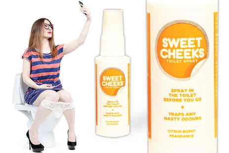 GetGorgeous - Sweet Cheeks Before You Go toilet spray - Save 62%
