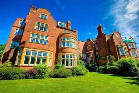 The Burlington Hotel - One or two night stay for two including breakfast, glass of wine, dining credit and 2pm check out - Save 39%