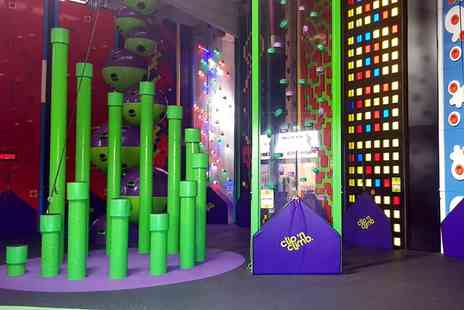 Velocity Trampoline Parks - One hour Clip n Climb climbing wall entry for one - Save 50%