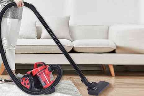 Groupon Goods Global GmbH - Hepa Cylinder Vacuum Cleaner - Save 47%