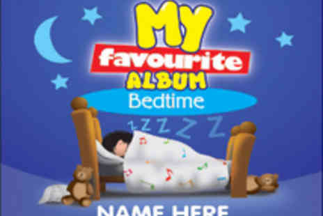 Kids Stuff and Things - Two personalised Childrens Music CDs with free DVD  personalise with any name - Save 50%