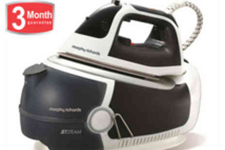 morphy richards - Morphy Richards Jet Steam Elite 42239-B - Save 53%