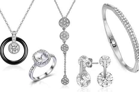 Jewells House - Choice of Jewellery with Crystals from Swarovski® With Free Delivery - Save 83%