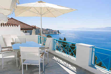 Grand Bleu Apartments - Stylish Apartments Facing The Aegean Sea For Two - Save 46%