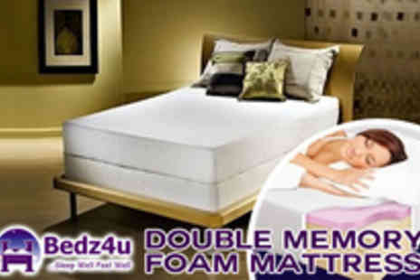 Bedz4u - Have the night of your dreams with this Memory Foam mattress - Save 66%