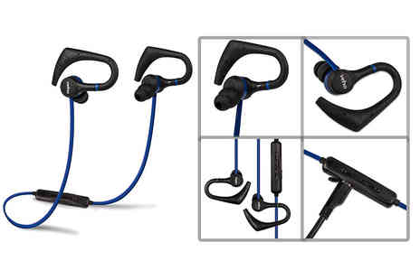 Deals Direct - Pair of Veho ZB 1 wireless Bluetooth in ear sports headphones - Save 37%