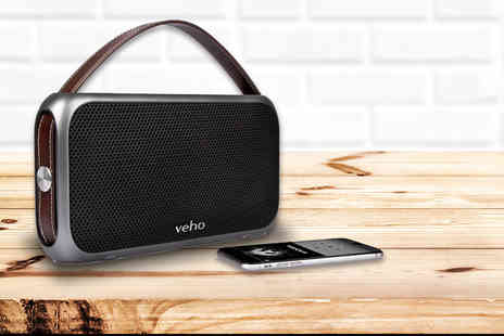 Deals Direct - Veho M7 Mode retro water resistant speaker - Save 65%