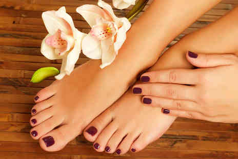Movida Hair & Beauty - Jessica manicure and pedicure - Save 58%