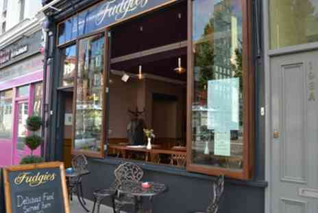 Fudgies Bistro - Breakfast or Brunch with Prosecco for One or Two - Save 47%