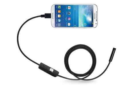 Groupon Goods Global GmbH - Borescope HD Camera for Android - Save 85%