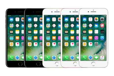 buy mobiles - Apple iPhone 7 128GB on 24 Month 4GEE Plan with Unlimited Minutes and Texts With Free Delivery - Save 90%