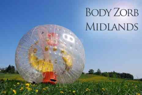 Body Zorb UK - Zorbing Experience For Two - Save 76%