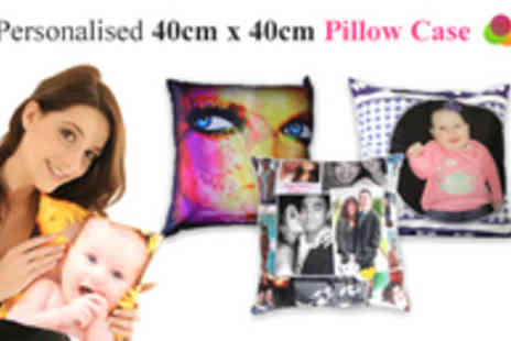 Foboco - Personalise Your Own 40cm x 40cm Pillowcase Printed with Your Own Photos or Designs - Save 70%