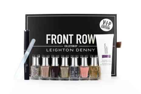 Groupon Goods Global GmbH - Leighton Denny Vip Front Row Christmas Nail Polish Gift Set - Save 71%