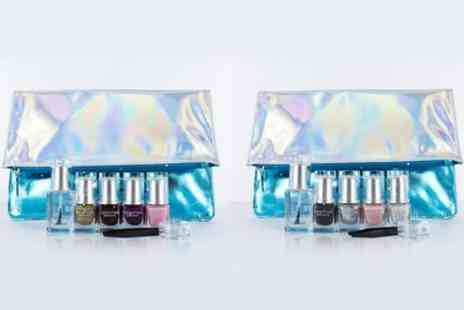 Groupon Goods Global GmbH - Leighton Denny Nail Polish Gift Set Avalanche of Love or Frostbite - Save 66%