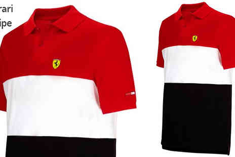 Brand Logic Europe - Mercedes or Ferrari Formula One Polo Shirts Choose 5 Designs - Save 77%