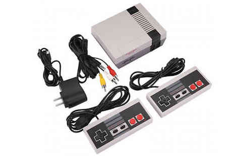 HXT Goods - Retro Games Console With 500 Games - Save 83%