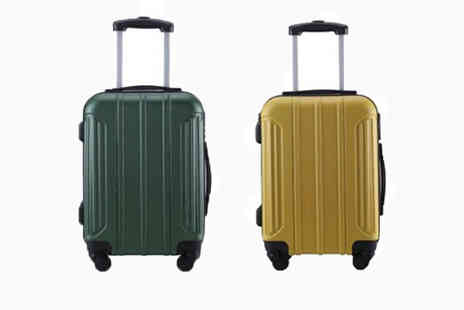 MC California - Holando splash proof cabin suitcase choose from two colours - Save 87%
