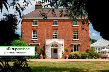 The Hadley Park House Hotel - Overnight Shropshire stay for two with breakfast and two course dining with a glass of wine - Save 45%