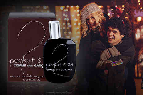 Deals Direct - 25ml bottle of Comme Des Garcons Two Pocket Size Edt -Save 44%