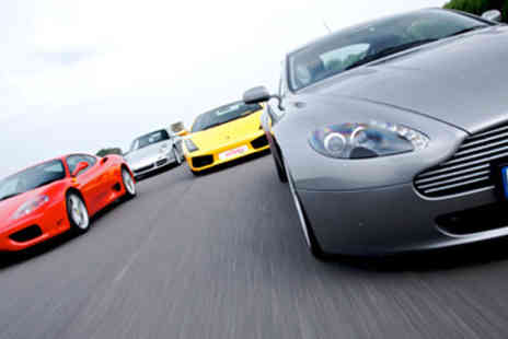 Red Letter Days - Four supercar experience plus a passenger lap in your choice of 18 locations - Save 0%