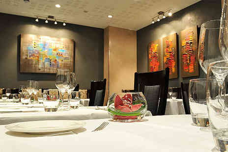 Buyagift - Four course Michelin dinner with a glass of Champagne each for two people - Save 0%