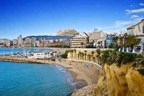Super Escapes - Four Nights half board Benidorm stay with flights - Save 48%
