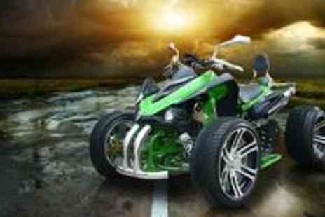 Redstone Shopping - Two person quad bike - Save 59%