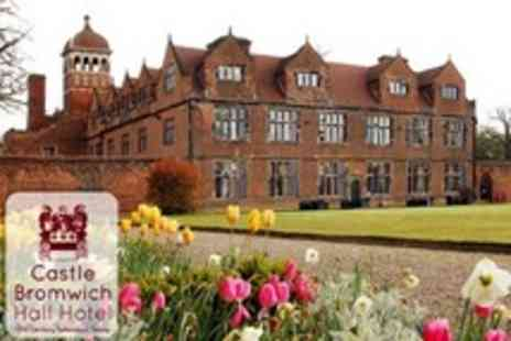 Castle Bromwich Hall Hotel - In Birmingham One Night Stay For Two With Dinner and Entrance to Castle Gardens - Save 53%