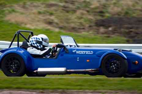 M Tech lite - Westfield Six or 12 Lap Race Car Driving Experience for One or Two - Save 47%