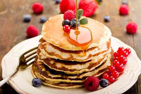 Tribeca City Centre - Pancakes, Waffles or French Toast with Choice of Drink for Two or Four - Save 54%