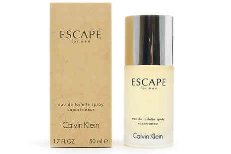 Fragrance and Cosmetics - Calvin Klein Escape Homme Edt 50ml or 100ml - Save 77%