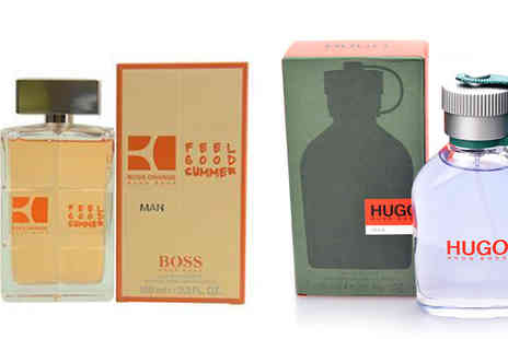 Fragrance and Cosmetics - Hugo Boss Fragrances for Men Choose Four Scents - Save 40%