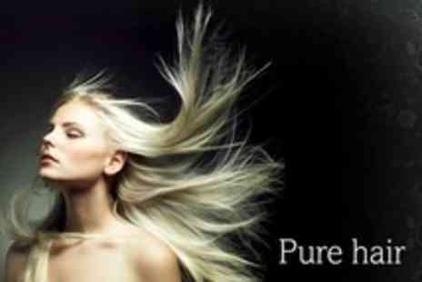 Pure Hair - Loreal Keratin Hair Straightening With Brazilian Blow Dry - Save 78%