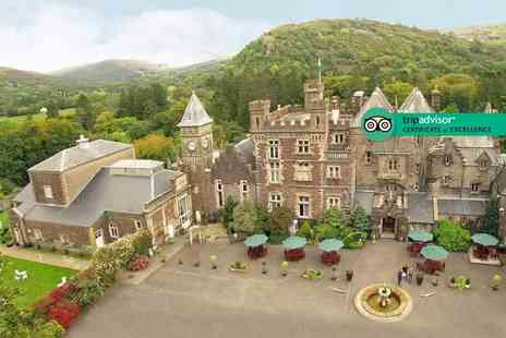 Craig Y Nos Castle - One or two night stay for two with leisure access, breakfast and castle tour - Save 54%