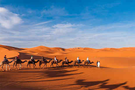 Crystal Travel - Two, three or four night Marrakesh break with breakfast and flights - Save 31%