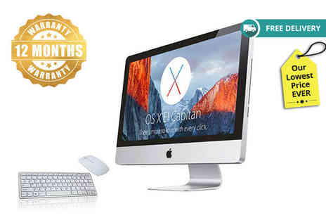 The IT Refurbisher - Apple iMac A1224 with 250GB HDD, keyboard, mouse and 12 month warranty - Save 73%