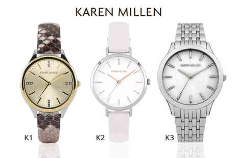 Brand Logic - Karen Millen watch choose from 10 designs - Save 86%