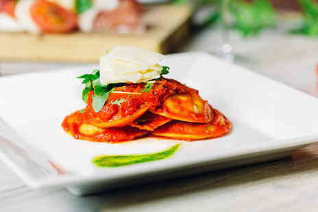 Sorrento - Two course Italian dining for two or include a glass of Prosecco each - Save 59%