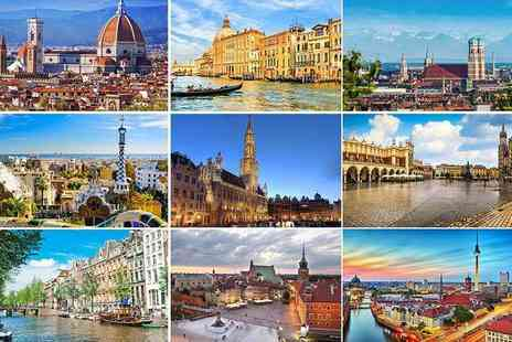 Crystal Travel - Two night 4 Star European city break, the ultimate Christmas gift choose from 8 destinations - save up to 49% - Save 49%