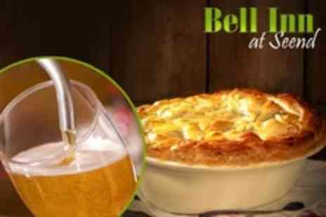 The Bell Inn - Ploughmans and Cider For Two - Save 55%