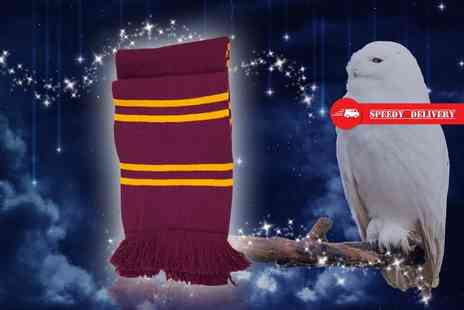 Treats on Trend - Gryffindor inspired scarf - Save 60%