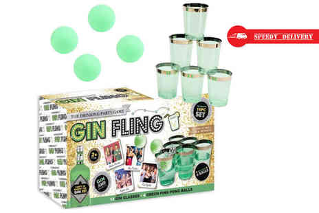 Direct 2 Publik - Gin Fling party game - Save 70%