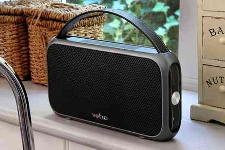 Groupon Goods Global GmbH - Veho M7 Mode Retro Water Resistant Speaker With Free Delivery - Save 57%