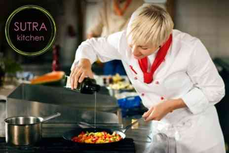Sutra Kitchen - Vegetarian Spanish Tapas Cookery Class - Save 57%
